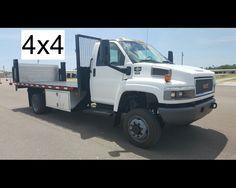 2008 GMC C5500 4X4 16FT FLATBED WITH LIFTGATE  - $24900,  http://www.afetrucks.com/medium-duty-trucks---flatbed-trucks-2008-gmc-c5500-4x4-16ft-flatbed-with-liftgate-used-pinellas-park-fl_vid_43653_rf_pi.html