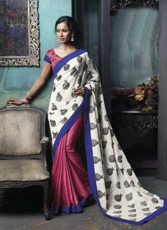 Our offered designer saree are widely demanded by customers based across the globe due to their attractive design and vibrant colors.