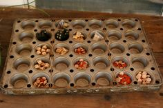 Industrial 35 count Muffin Pan, Organizer, Storage, Chicago Metallic. $58.00, via Etsy. ERMERGERD! I so need one of these!!!