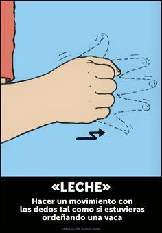Loesencial para que puedas comunicarte con tubebé. Sign Language For Kids, Sign Language Phrases, Sign Language Alphabet, Learn Sign Language, American Sign Language, Baby Singing, Baby Learning, Baby Development, Teacher Hacks