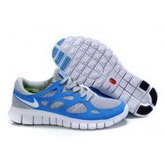 best authentic 8735b b3a0a Nike Free Run 2 Mens Royalblue Gray Running Shoes