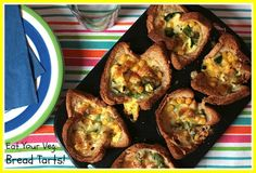 Eat Your Veg | Bread Tarts | A great fun little make for kids of all ages