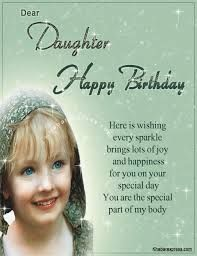 Image result for free happy birthday cards to a lovely daughter.