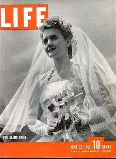 A wartime issue of Life magazine for June 22, 1942.