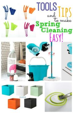 Tools & Tips to Make Spring Cleaning Easy!