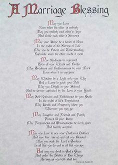 Used Irish wedding blessing lyrics Wedding Scripture, Wedding Prayer, Wedding Poems, Wedding Readings, Wedding Wishes, Wedding Day Quotes, Wedding Speeches, Wedding Card, Wedding Signs