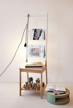 RÅGRUND magazinerek #DIY #IKEADIY #IKEAxWootay Styling Wootay (Productie: Studio Woot Woot, Foto: Luc Roymans)