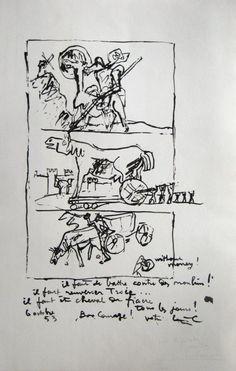 Le Corbusier (1887-1965) Don Quixote, 1953/60