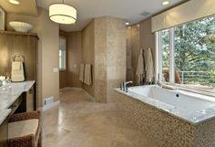 doorless shower design ideas | Doorless Shower Design, Pictures, Remodel, Decor and Ideas