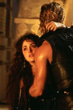 Briseis and Achille (Rose Byrne and Brad Pitt) in Troy Brad Pitt, Troy Movie, Movie Tv, Troy Achilles, Image Film, Eric Bana, Movie Couples, Romantic Couples, Romance Movies