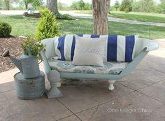 After: Outdoor Sofa  - CountryLiving.com
