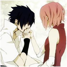 Sasuke and Sakura- I hve to admit that I ship them. NaruHina and SasuSaku make things perfect :)