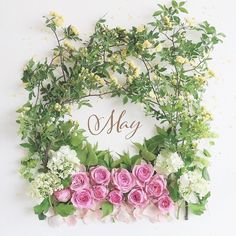 MayHave a wonderful time Month Flowers, Mothers Day Flowers, Seasons Months, Months In A Year, Spring Months, Spring Time, Flower Collage, Happy May, Welcome Spring