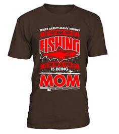 I-Love-More-Than-Fishing-Mom-T-Shirts (Copy)  #volleyball #volleyballmom #mom #shirt #tshirt #tee #gift #perfectgift #birthday #Christmas #motherday