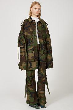 Matthew Adams Dolan Oversized Detailed Military Jacket - WOMEN - Matthew Adams Dolan