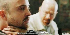 #BreakingBad #WalterWhite #JessePinkman #Series #Past #Change #Nothing