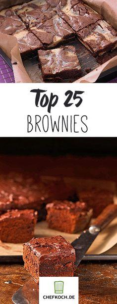 Brownies – wie Schokoladenkuchen, nur schokoladiger