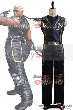 Tekken 6 Raven Fighting Cosplay Costume