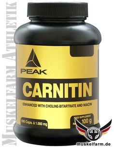 Peak Carnitin mit hochwertigem L-Carnitin #Fettabbau #Diät #Abnehmen #Körperfett #diet #Gewichtsreduzierung #fatburner