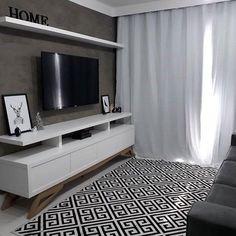 zimmer renovierung und dekoration gardinen modern wohnzimmer schwarz weis, klein dekoriertes zimmer: 90 moderne designideen zum inspirieren, Innenarchitektur