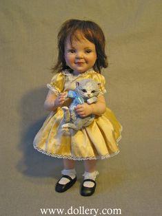Jane Bradbury Collectible Dolls Little Kitten