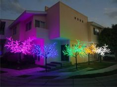 Arboles De Leds Decoracion Jardines Salones Fiestas Eventos - $ 11,600.00