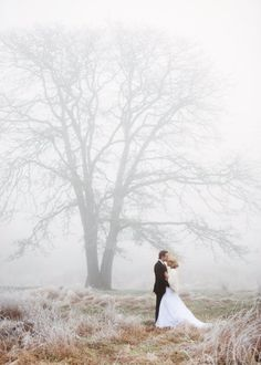 lovely winter wedding