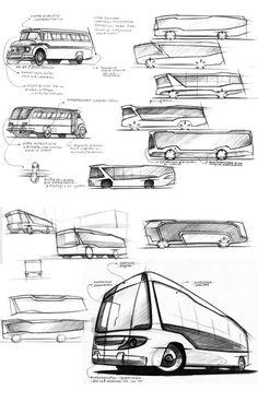 Urban Bus. by Emiliano Angel Olivari, via Behance