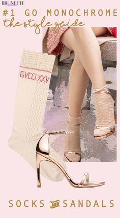 "Fashion Blogger Veronika Lipar of Brunette from Wall Street sharing 2 ways to wear socks and sandals fashion trend in 2018 #fashion #blogpost #socks #socksandsandals #ITpieces #ITshoes #fashiontrend #sandals #outfits #stuartweitzman #nudistsongsandals #sandals #fashionable #romantic #chic #ss2018 #fashiontrends #stylish #spring #streetstyle #streetwear #transitional #midseasonal #elegant #edgy #trenddriven #pink #rosegold #bronze"" width="