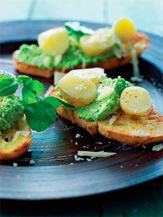 Lækker lille haps, der kan spises til frokost, som snack eller til forret.