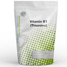 Vitamin B1 Supplements supports normal energy yielding metabolism. http://www.blackburndistributions.com/vitamin-b1-powder.html