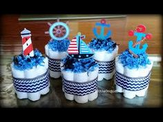 Baby Shower Diaper Cakes Boy | Baby Shower Diaper Cake Ideas Boy