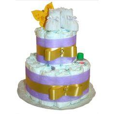 Las tartas de pañales son un regalo idóneo para cualquier bebé, ya que se trata de un obsequio práctico y original