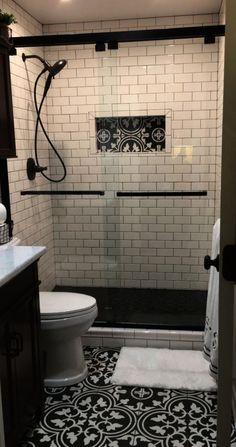 Bathroom Design Ideas For Elderly. Guest Bathroom Remodel Ideas On A Budget Bathroom Trends, Bathroom Renovations, Bathroom Ideas, Remodel Bathroom, Budget Bathroom, Bathroom Makeovers, Simple Bathroom, Modern Bathroom, Bathroom Design Small