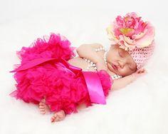 Sweet Peony Crochet Flower Hat