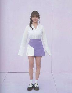 Tt Twice, Twice Songs, Twice Jihyo, High Waisted Skirt, Mini Skirts, How To Wear, Jackets, Collection, Albums