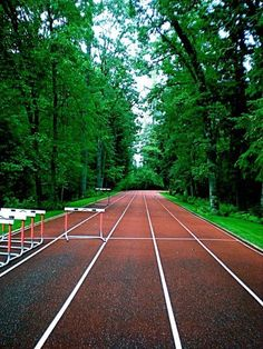 Love! now if tracks really looked like this it would be much more enjoyable to run in a circle!