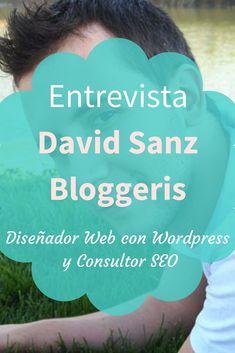 ¿Quieres un poco de inspiración?  Entonces no te puedes perder la entrevista que le hice a David Sanz de Bloggeris.  Un chico de Madrid, España y Diseñador Web con Wordpress especializado en SEO y Blogger.  Aquí nos cuenta un poco sobre su historia de emprendimiento.    Ingresa en el link y llénate de inspiración.
