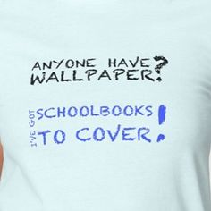 How to know you had an Irish childhood part 1: your schoolbooks were protected with wallpaper