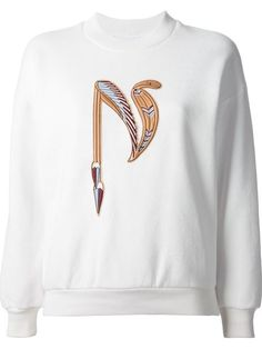 Shop Nanushka 'Cobra' embroidered sweatshirt in Stylesuite from the world's best independent boutiques at farfetch.com. Over 1000 designers from 60 boutiques in one website.