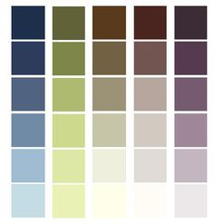 From This Basic Palette We Can Move Into A Little More Modern Color Scheme For A