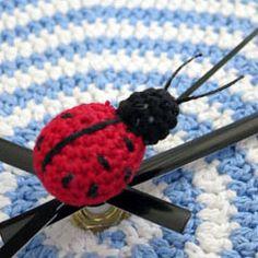 Crochet ladybug - free pattern from Annie's Granny Design