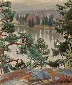PEKKA HALONEN From Sarvikallio (1916) (Finnish)