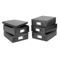 Whitmor Document Boxes, Set of 5 - Laundry & Closet Organization - Cleaning & Organizing - Plastic Box Storage, Craft Storage, Storage Boxes, Office Storage, Office Organization, Organizing, Thing 1, Office Accessories, Home Office Furniture