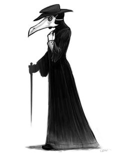 The Plague Doctor Concept 01 by zyanthia.jpg