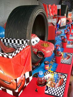 """""""Disney Cars Party"""" by Treasures and Tiaras Kids Parties, via Flickr"""