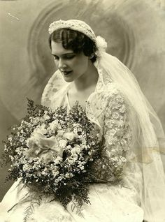 Wunderschöne Vintage Braut