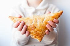 Afternoon snacktime is a snap with this quick and easy Ham & Cheese Turnover recipe.