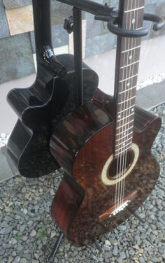 Eternal Series single cutway acoustic guitar. Finishing: Rosewood-ornament. www.ccguitar.net