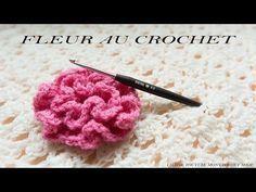 Comment faire une fleur au crochet ( facile pour débutant) Plus